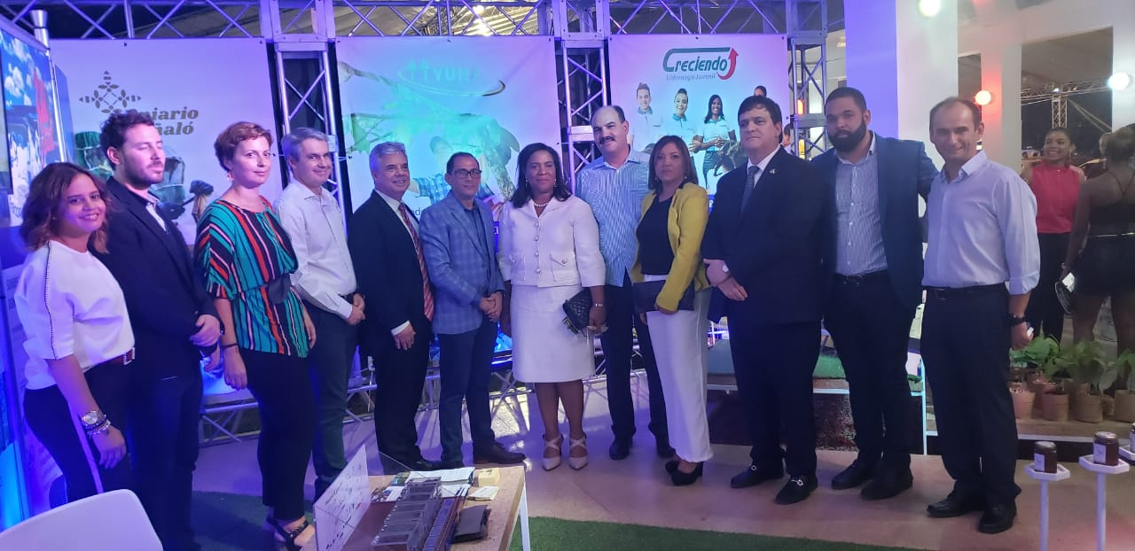 Falcondo executives attended the event
